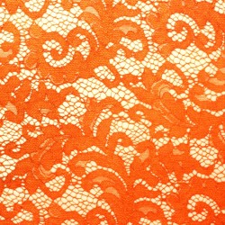 Scalloped orange orange lace - 02