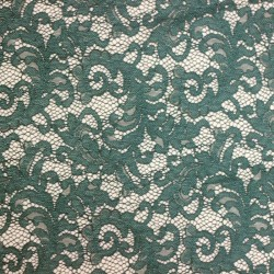 Scalloped blue duck lace - 02