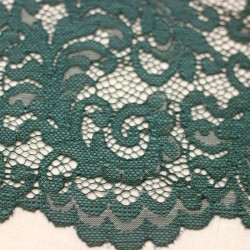 Scalloped blue duck lace - 03