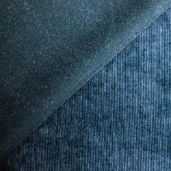 Blue corduroy plain - 01