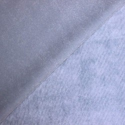 Blue corduroy gray plain - 01