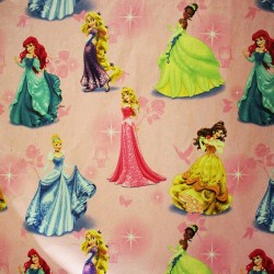 Tissu Coton motifs princesses disney - photo 1