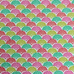 Cotton fabric patterns sunrise lorraine multi colors 01